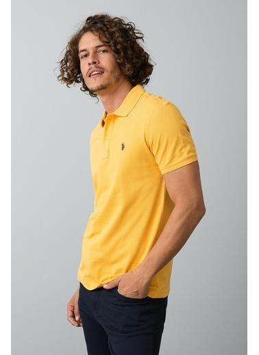 U.S. Polo Assn. Polo Yaka Tişört Sarı